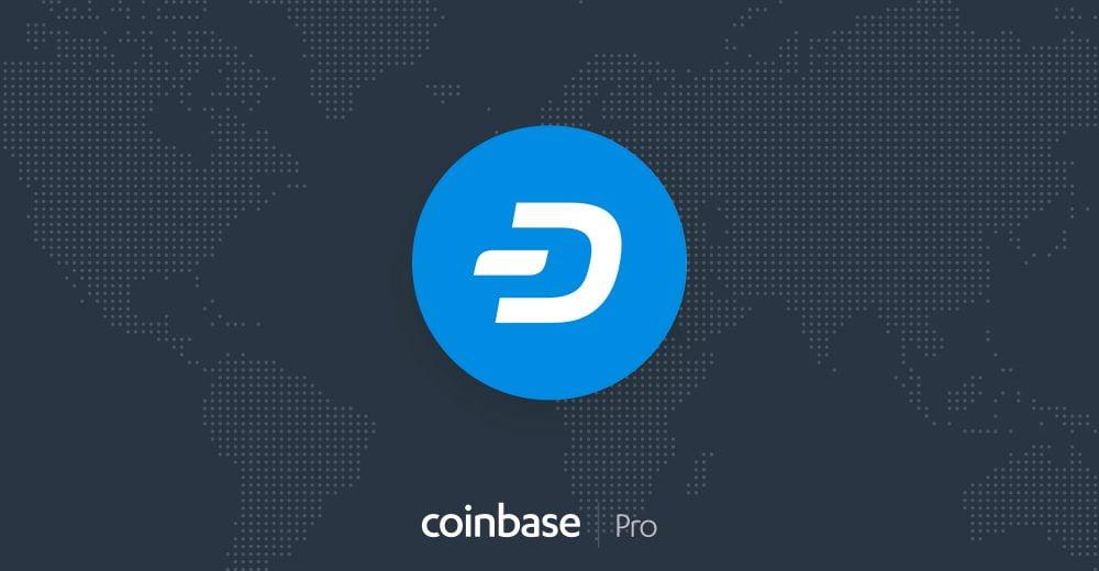 Coinbase Pro в понедельник добавит криптовалюту DASH
