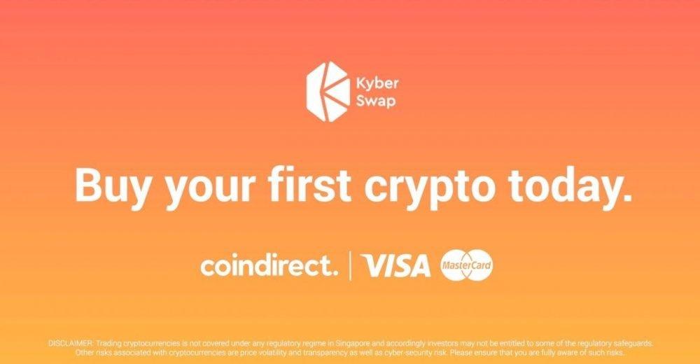 KyberSwap запустил покупку криптовалюты через фиат