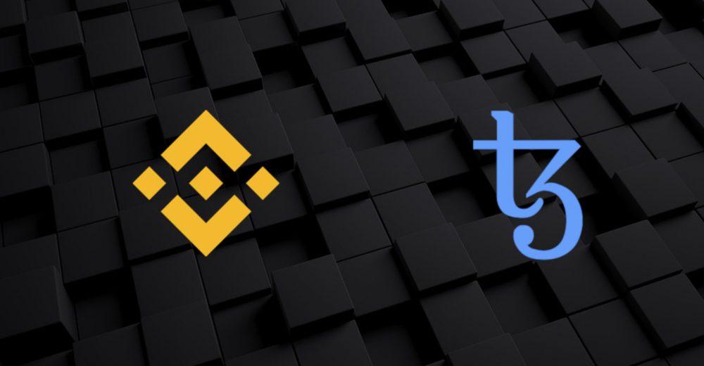 Binance объявил о листинге Tezos и возможном стекинге монет