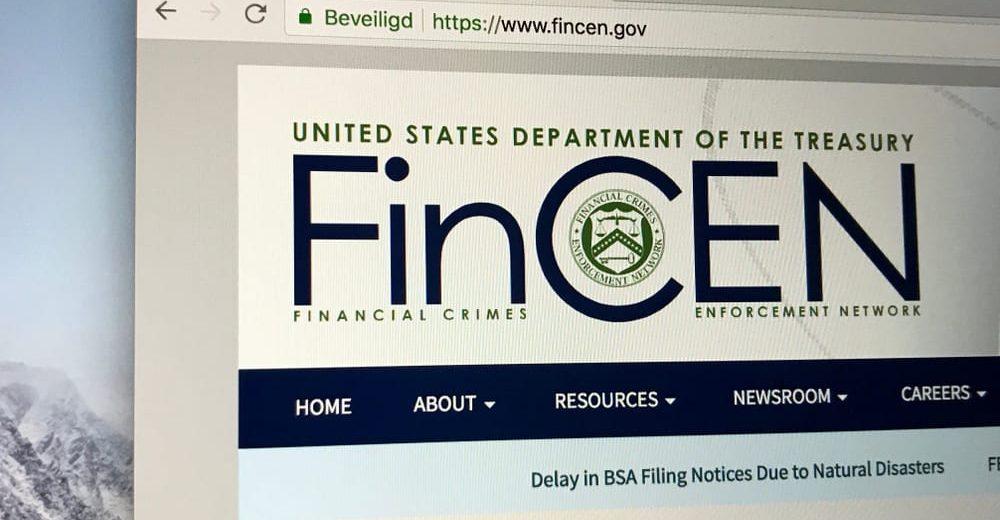 По словам главы FinCEN, законы по борьбе с отмыванием денег распространяются и на криптовалюты