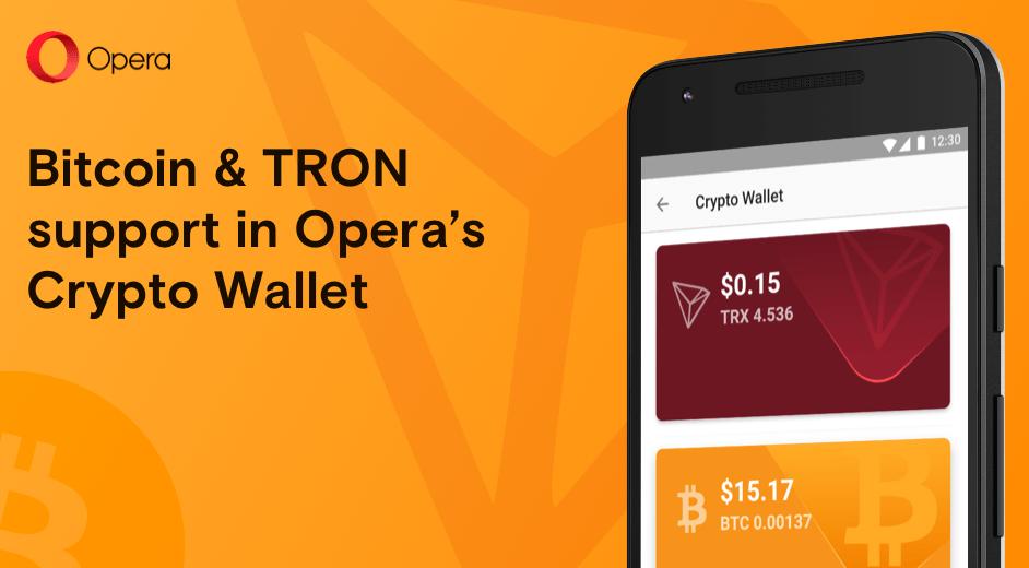 Opera стала первым крупным браузером, поддерживающим прямые биткоин-платежи
