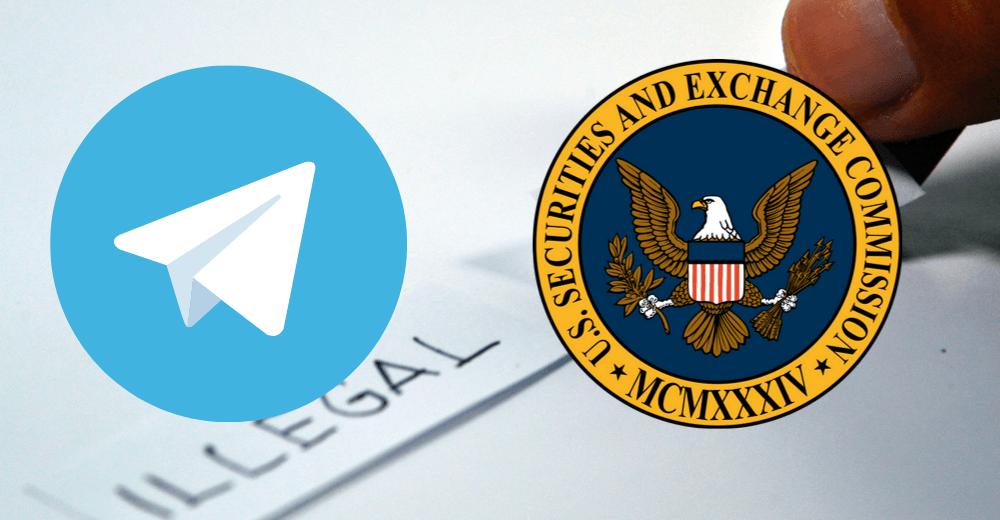 SEC США подала иск против предстоящего токена Gram от Telegram