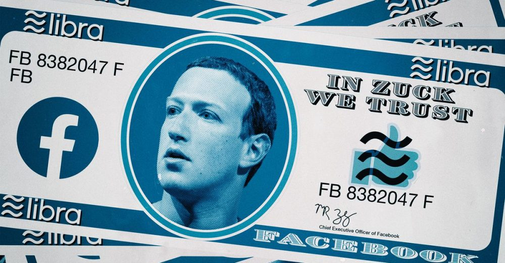 Facebook создаст систему «теневого банкинга», предупреждают крупные банки США