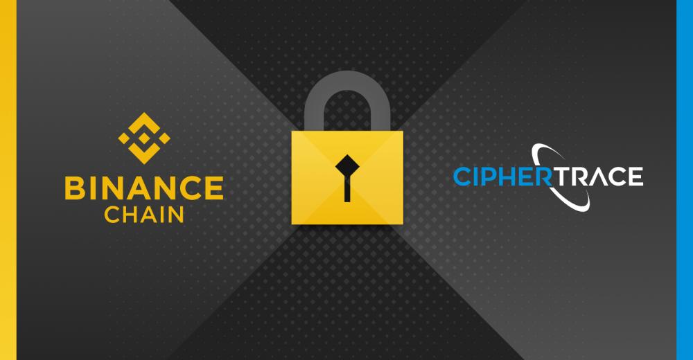 Binance сотрудничает с CipherTrace для улучшения процедуры AML