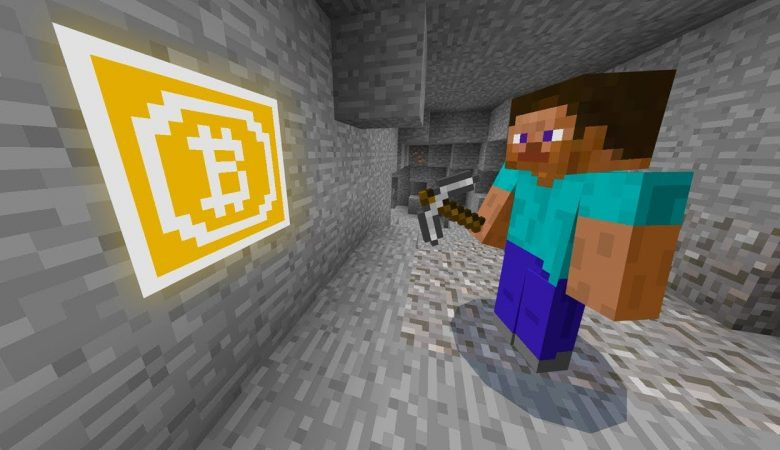 Minecraft объявил охоту за биткоинами