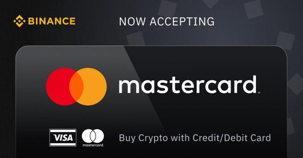 Binance добавила поддержку рубля и гривны для владельцев карт Mastercard