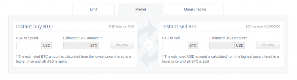 Cex.io - Обзор биржи - покупка
