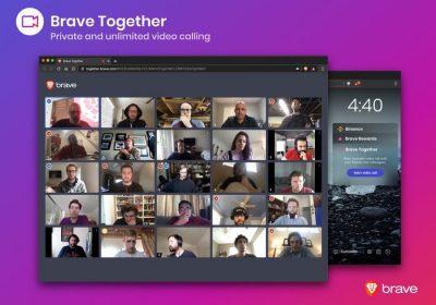 Браузер Brave тестирует зашифрованные видеозвонки