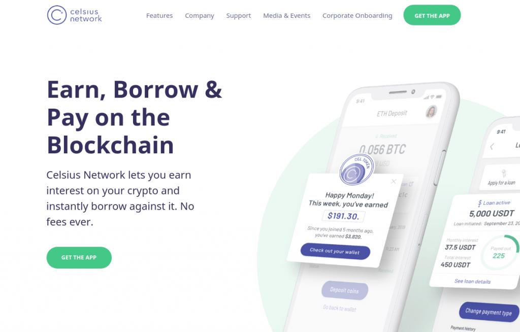 Celsius.network - Обзор платформы крипто-кредитования