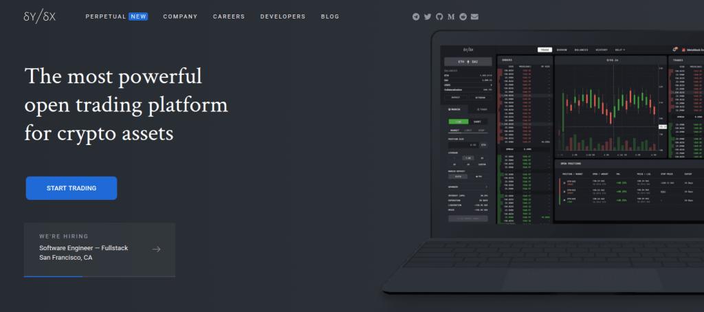dYdX - Обзор DeFi платформы