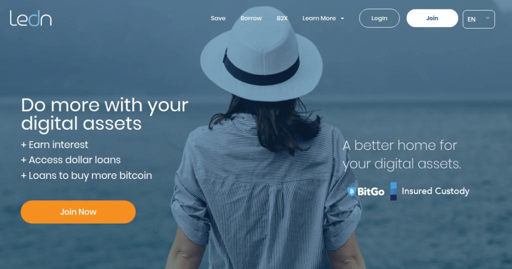 Ledn - Обзор платформы криптокредитования
