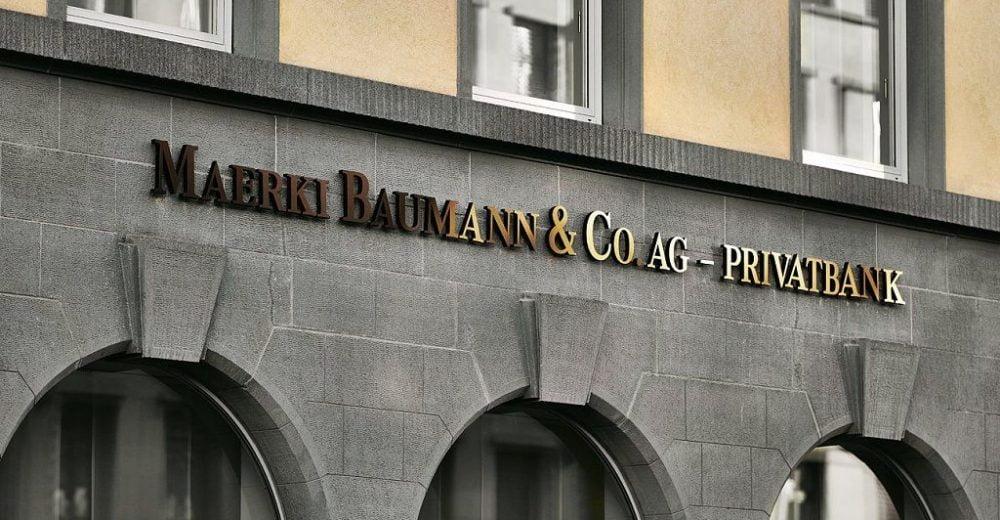 Швейцарский банк Maerki Baumann запускает хранение и торговлю криптовалютой