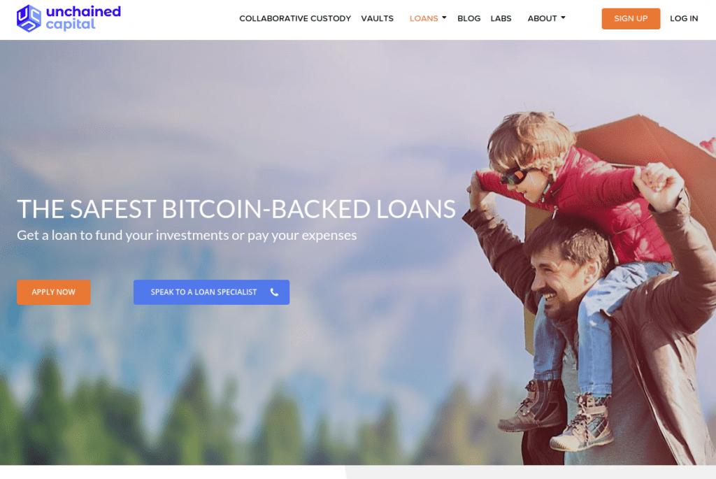 Unchained Capital - Обзор платформы крипто-кредитования