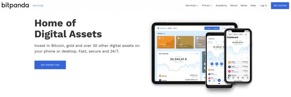 Bitpanda - Обзор криптовалютного кошелька
