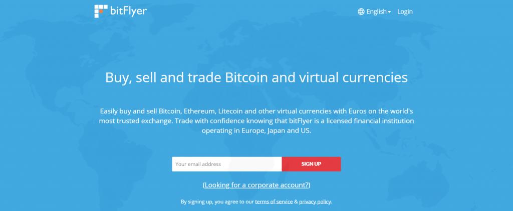 bitFlyer - Обзор криптовалютной биржи
