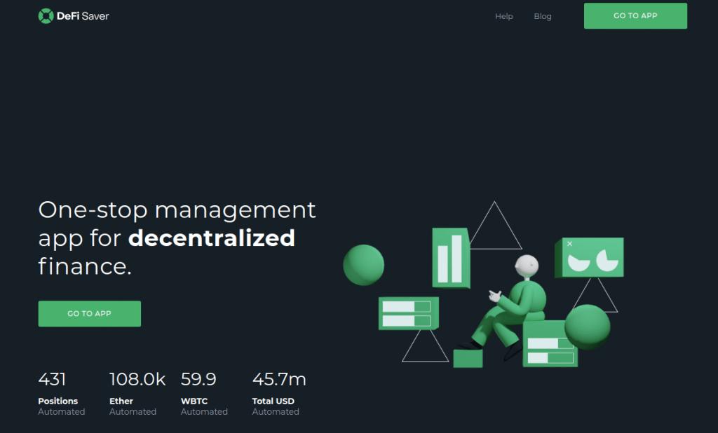 DeFi Saver - Обзор децентрализованного приложения