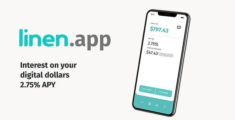 Linen.app - Обзор приложения для крипто-лендинга