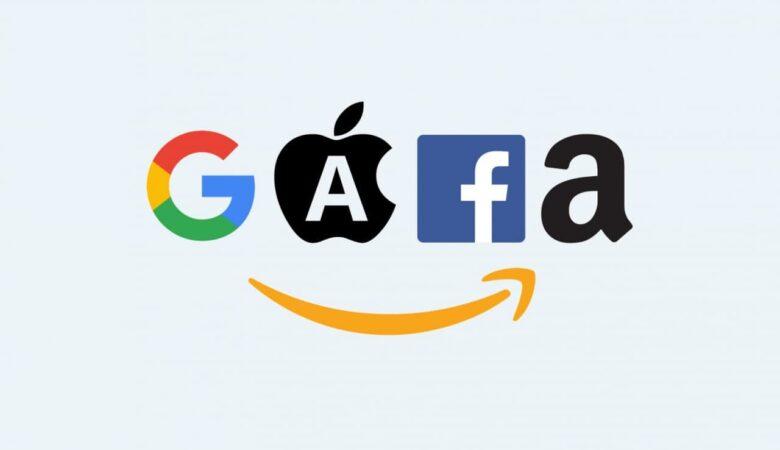 Акции Facebook, Amazon, Apple и Google достигли рекордного минимума при оценке в Биткоине
